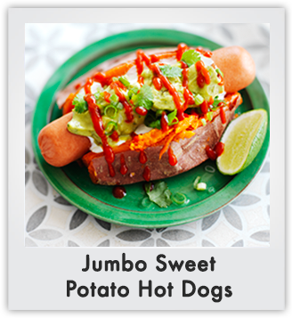 Sweet Potato Dogs